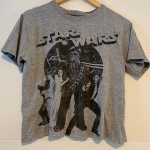 Star Wars Cropped Graphic Tee